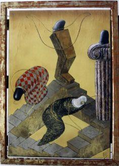 Вверх по лестнице ведущей в низ Painting, Art, Art Background, Painting Art, Kunst, Paintings, Performing Arts, Painted Canvas, Drawings
