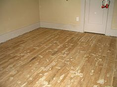How to refinish hardwood floors with instructional video