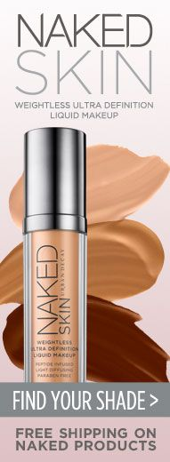 Urban Decay Naked Skin foundation has arrived!