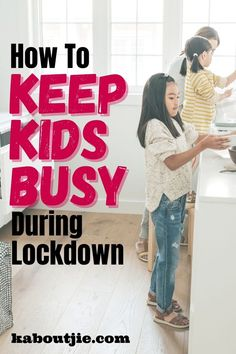 This contains: keep kids busy during lockdown Outdoor Activities For Kids, Infant Activities, School Readiness, Work From Home Moms, Business For Kids, Raising Kids, Parenting Hacks, Activity Ideas, Toddlers