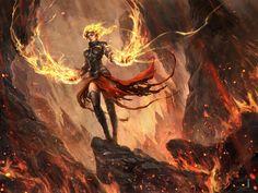 Chandra Nalaar by Ivan Tao | Fantasy | 2D | CGSociety