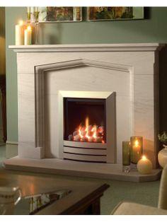 Leon, Gas Fire, Pebble Fuel Bed Gas Fires, Fireplaces, Contemporary, Design, Home Decor, Fireplace Set, Fire Places, Decoration Home, Room Decor
