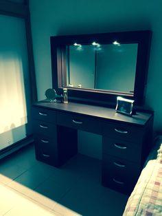 Wardrobe Design Bedroom, Room Design Bedroom, Bedroom Furniture Design, Room Ideas Bedroom, Home Decor Furniture, Dressing Table Modern, Dressing Table Design, Best Modern House Design, Dream Home Design