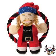 Bret Michaels Pets Rock™ Santa Rocker Bret Rope Dog Toy - PetSmart
