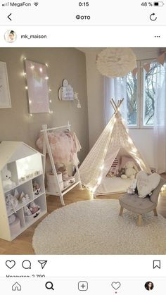 Deciding just how to make a little girls bed room something special for her to live and also take haven in isnt simple. These are 25 bedrooms filled with delightful suggestions for embellishing a womans space. These ideas may help. Baby Room Decor, Nursery Room, Bed Room, Girl Bedroom Designs, Girls Bedroom, Bedroom Ideas, Toddler Rooms, Kids Room Design, Little Girl Rooms
