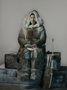 """Tales of the Doomed Franklin Expedition Long Ignored the Inuit Side, But """"The Terror"""" Flips the Script The new AMC television show succeeds in being inclusive of indigenous culture The Terror Amc, Marine Royale, Franklin Expedition, The Crow, Sunset Quotes, Drame, Dark Matter, Popular Movies, Old Tv"""