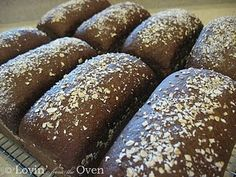 """Outback"" Black Bread. Yum."