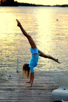 working into handstand