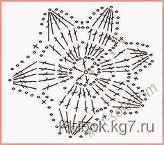Moldes y patrones para confeccionar musculosa de dama realizada al crochet con flores decoradas con perlas y un calado trabajado en la parte inferior