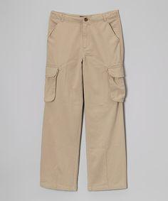 Tan Cargo Pants - Infant & Boys