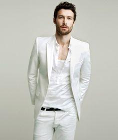 White - mens fashion