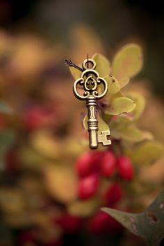 ˚A chave que abre os meus mais secretos desejos é a chave que desvendará os mistérios do outro lado***