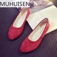 Women Ladies Slip On Flat Sandals Casual Shoes Solid Fashion Loafer Female  Frosted Face Pointed Plain ebdaa2b21a7d