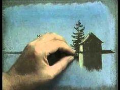 Peindre aux pastels, première approche - YouTube