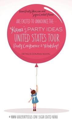 Kara's Party Ideas United States Tour and Workshop! Hosted by KarasPartyIdeas.com & Sugar Coated Mama