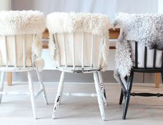 sheepskin covered rugs