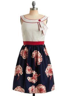 Carousel Cutie Dress | Mod Retro Vintage Printed Dresses | ModCloth.com - StyleSays