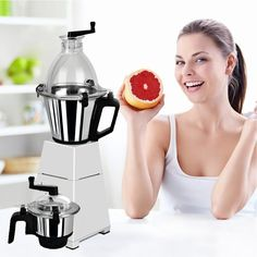 Prepare juices, milkshakes, soups, smoothies, ground masalas, pastes, chutneys and more within minutes with Tecnora Avatar 750FP Blender/Mixer/Grinder. It features Micro cut stainless steel blades that guarantee precision cutting and what's more…they are detachable hence easier to clean. To know more, visit: http://bit.ly/1IFJY6e