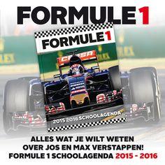 Binnenkort verkrijgbaar Formule 1 Schoolagenda 2015 - 2016! Zondag 29 maart. GrandPrix van Maleisië