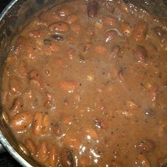Terry's Texas Pinto Beans make this with Tomatillo Salsa Verde recipe ...