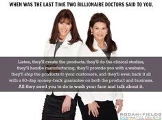 Yep! This is true! Love that the Doctors let me partner with them! Perfect gig for a military wife!!