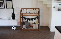 DIY: houten speelhuisje