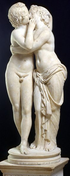 Statue of Cupid and Psyche    Sculpture    From a Greek original of the 2nd century BC     Marble