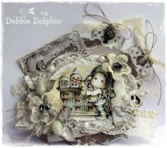Live & Love Crafts' Inspiration and Challenge Blog: Compliments Of The Season