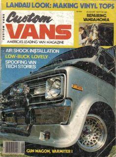 Custom Vans Aug. 1977
