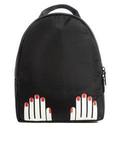 Image 1 ofLulu Guinness Hands Backpack