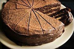 Κέικ Σοκολάτας Γεμιστό με Καραμέλα Cookbook Recipes, Cake Recipes, Dessert Recipes, Cooking Recipes, Desserts, Sweet Recipes, Tiramisu, Nom Nom, Pancakes