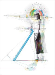 Portraiture in Blueprint? Min Jeong Ahn Diagrams Emotionality - Enpundit
