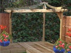 The pergola kits are the easiest and quickest way to build a garden pergola. There are lots of do it yourself pergola kits available to you so that anyone could easily put them together to construct a new structure at their backyard. Curved Pergola, Pergola Canopy, Pergola Swing, Pergola Attached To House, Metal Pergola, Deck With Pergola, Cheap Pergola, Wooden Pergola, Covered Pergola