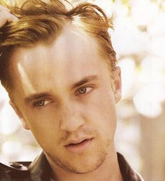 If you loved Draco Malfoy, you would love Tom Felton in Murder in the First as Erich Blunt! Tom Felton, Drarry, Dramione, Harry Potter Love, Harry Potter World, Bae, Daniel Radcliffe, Attractive Men, Pretty People