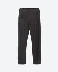 Image 8 of LOOSE-FIT TROUSERS from Zara
