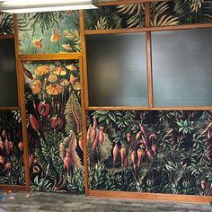 Garden of Goddess wallpaper Peel and stick Art wall mural Temporary Wallpaper, I Wallpaper, Tropical Wallpaper, Tropical Wall Decor, Stick Art, Pastel, Watercolor Leaves, Traditional Wallpaper, Vintage Maps