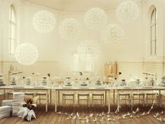 someday my white party will look like this. give it a few years.