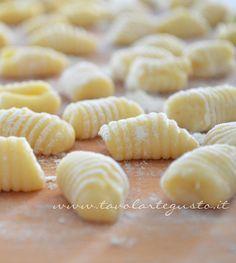 Gnocchi di patate: Ricetta, trucchi e consigli -Ricetta Gnocchi patate - Tavolartegusto.it