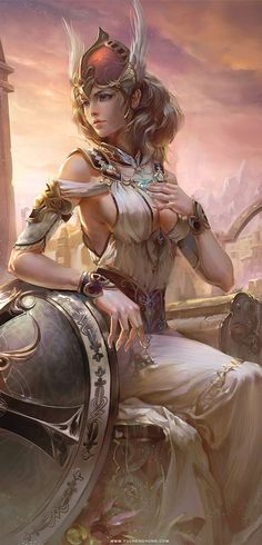 Card Game Illustration by Yu Cheng Hong, via Behance: