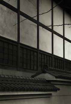 Temple wall, Tokyo, Japan