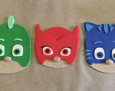 PJ máscaras inspiradas de la torta