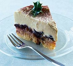 Zabaglione trifle slice recipe, This dish is inspired by trifle and tiramisu, taking some of the best elements of each Bbc Good Food Recipes, Sweet Recipes, Cooking Recipes, Chef Recipes, Yummy Food, Christmas Pudding, Christmas Desserts, Christmas Recipes, Christmas Dinners