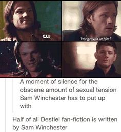 destiel headcanons - Google Search