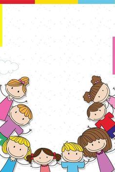 Free Printable Borders And Frames Kids - Frame Clipart - Free Kids Borders Clip Art - Funny Free Printable Borders for kids Borders For Paper, Borders And Frames, Drawing For Kids, Art For Kids, School Board Decoration, School Decorations, School Border, Printable Border, Powerpoint Background Design
