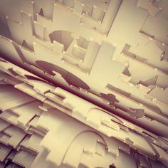 #paper #geomteric #kiriorigamic #surface #design #origamicarchitecture #kirigami #kiriorigami #kineticpaper #paper #paperart #fold #foldesign #FoldForm #London