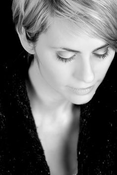 27 Beautiful Black and White Portraits... Still Moment B&W by fensterbme, via Flickr
