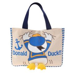 Hanging Donald Duck Tote Bag