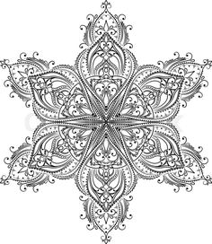 """Buy the royalty-free Stock vector """"contoured mandala shape flowers and birds for adult coloring"""" online ✓ All rights included ✓ High resolution vector f. Hamsa Design, Mandala Tattoo Design, Mandala Drawing, Mandala Art, Design Art, Flower Coloring Pages, Mandala Coloring Pages, Colouring Pages, Adult Coloring Pages"""