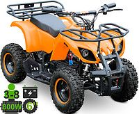 Детский квадроцикл электрический KXD ATV 7E 800W36V R6 оранжевый KXD_ATV_7E_36V800Worange
