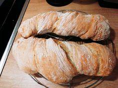 Ciabatta, Ring Cake, Canapes, Scones, Italian Recipes, Bakery, Pork, Food And Drink, Sweets
